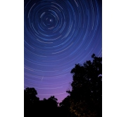 Astro Poster - Star Trails