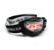 Lampa za glavu (crvena i bela LED)