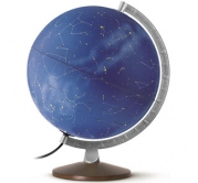 Globus 30 cm lampa Noćno nebo 1917 Rathgloben
