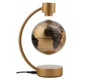 Globus 10 cm levitirajući - metalik zlatni Stellanova